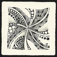 Zentangle by Margaret Bremner, Certified Zentangle Teacher