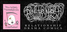 Pena The Unholy - Comics - Cute Penguins - Dark Art Illustrations - Horror - Dark Humor Dark Art Illustrations, Illustration Art, Cute Penguins, Comic Art, Drama, Relationship, Dark Artwork, Drama Theater, Relationships
