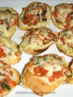 Fresh Tomato and Basil Bruschetta Recipe - Do It All Working Mom