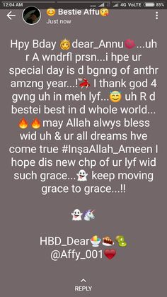 # Anamiya khan Thanks Happy Birthday Wishes Bestfriend, Short Birthday Wishes, Happy Birthday Husband, Happy Birthday Quotes For Friends, Birthday Quotes For Best Friend, Birthday Wishes Cards, Snap Quotes, Reality Quotes, Eid Quotes