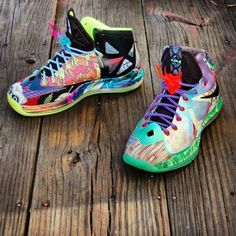 online store 482b9 ece76 lebron x what the fehc 08 570x570 Nike LeBron X What the Fehc Customs by  Gourmet