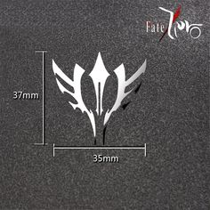 Vicwin-One Fate Zero Rider Command Spell Logo Mobile Phone Sticker Decal Cosplay * Check this awesome product by going to the link at the image.