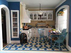 Fairfield Dollhouse 1:24 scale - Kitchen