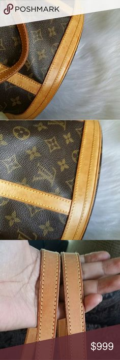 Additional pictures of LV bucket GM Just additional pictures,  please check original listing in my closet for more detail Louis Vuitton Bags Shoulder Bags