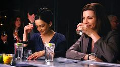 The Good Wife Gin Tonics