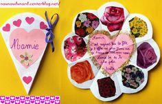 Axelle 5ans1/2  a réalisé une jolie carte pour sa mamie avec un petit poème.http://nounoudunord.centerblog.net/
