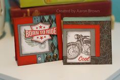Love Aaron's Born to Ride cards!