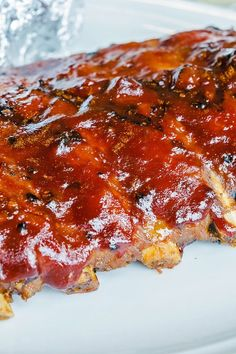 Amazing Whiskey Grilled Baby Back Ribs Recipe with pork ribs, red chile pepper, … – İtalian Recipes Healthy Grilling Recipes, Easy Meat Recipes, Chef Recipes, Baby Food Recipes, Food Network Recipes, Cooking Recipes, Dinner Recipes, Sauce Recipes, Bread Recipes