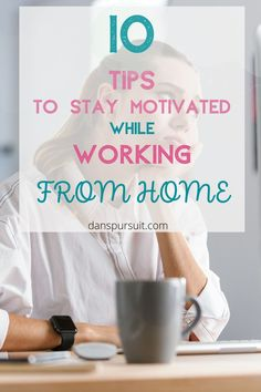 Bored working from home? Check out these tips to inspire and motivate you to be more productive when working from home. Learn how to enjoy working remotely and you'll never want to go back to the office! #workfromhome #boredworkingfromhome #workingremotely #remotework #workingonline #workfromhomemotivation Work From Home Tips, Make Money From Home, Way To Make Money, Make Money Blogging, Make Money Online, Saving Money, How To Start A Blog, How To Make, Making Extra Cash
