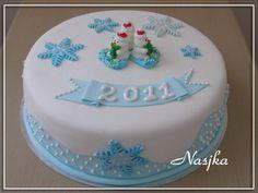 Snowmen Cake by Nasjka, via Flickr