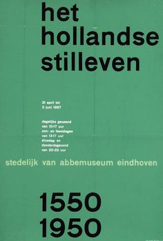 G - Wim Crouwel Posters