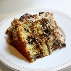 Cannella Vita: best cake I ever ate {mocha marble cake}
