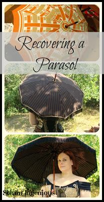 Steam Ingenious: Recovering a Parasol. Most random thing I've pinned yet, but who knows?