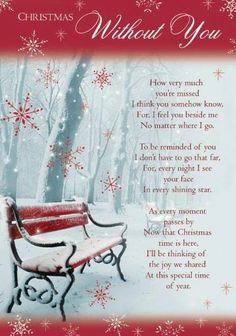 Christmas Without You Miss You Family Quotes Heaven In Memory Christmas  Christmas Quotes Christmas Quote
