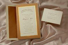 Legend in Copper Bar Mitzvah Invitation