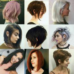 #hair Cabelos Curtos