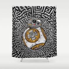 Aztec BB8 BB-eight droid robot iPhone 4 4s 5 5c 6, pillow case, mugs and tshirt @society6 #showercurtain #aztec #bb8 #droid #robot #hansolo #leia #skywalker #trooper #starwars