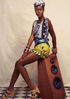 Vintage African Fashion by Suno