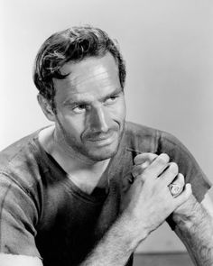 Charlton Heston    'The Greatest Show on Earth', 'The Ten Commandments', 'Touch of Evil', 'The Big Country', 'Ben-Hur', 'El Cid', 'The Agony and the Ecstasy', 'Planet of the Apes', 'The Omega Man', 'Gray Lady Down' & 'Hamlet'