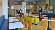 Frühstücksraum des B&B Hotel Münster-Hafen