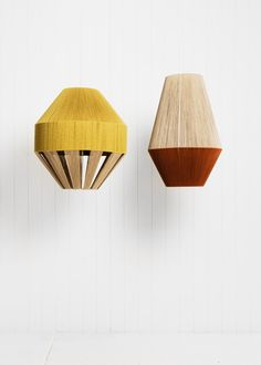 Pop and Scott - Baby Bell Dreamweaver Pop And Scott, Objet Deco Design, Diy Luminaire, Fabric Lampshade, Glass Material, Diffused Light, Lamp Shades, Decoration, Light Fixtures