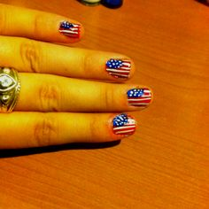 Nails for 4th of July :)