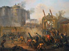 Le 14 juillet 1789, la Bastille est prise d'assaut par les Parisiens. De ce jour date la fin de l'«Ancien Régime» et le début de la Révolution française.