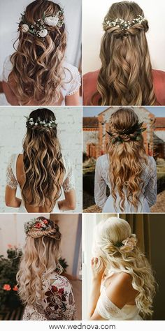 13 Super Charming Wedding Hairstyles for 2020 #wedding #weddinghairstyle #bridalhairstyle #bridalhair Spring Wedding Decorations, Summer Wedding Colors, Wedding Trends, Wedding Styles, Wedding Ideas, Hair Vine, Hair Dos, Bridal Hair, Wedding Hairstyles