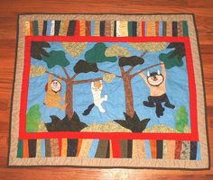 Where the Wild Things Are Quilt Fabric | The Wild Things quilt is all finished and washed and is on its way to ...