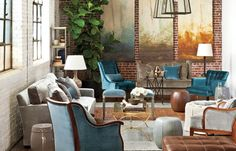 1000 images about beautiful ballard designs on pinterest for Peaceful living room ideas