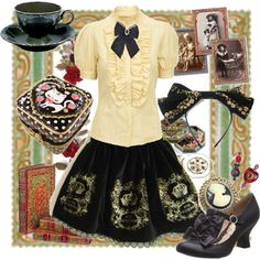 """""""Classic Lolita"""" by thesuzanne on Polyvore"""