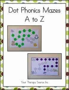 Dot Phonics Mazes