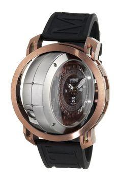 Men's Persepolis Dual Time 52.5mm Watch//