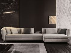 Seymour Sofa collection by @minottiofficial   Minotti classic lounge sofas for living room sets