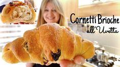 CORNETTI BRIOCHE ALL'UVETTA 🥐Sofficissimi e Leggeri 🥐CROISSANT BRIOCHE WITH RAISINS - YouTube Croissants, Biscotti, Sweet Buns, Raisin, Deserts, Bread, Breakfast, Friends, Videos