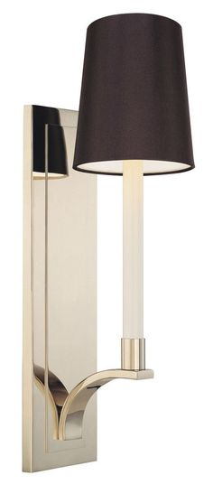 Features:  -Wall sconce.  -1 Light.  -Transitional theme.  -Curva collection.  Product Type: -Armed Sconces.  Style: -Contemporary. Generic Specifications:  -120 Volts. Dimensions:  Overall Height - T