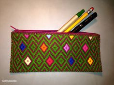 Embroidered Mexican Case