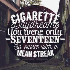 Cigarette Daydreams//Cage the Elephant Lyrics