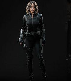 Immagine di skye and agents of shield