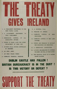 Flashback to the turbulent beginning of Saorstát Éireann, which was hurtling towards civil war even as it gained statehood.
