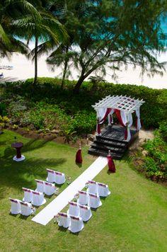 #Garden #Wedding #TurtleBeach