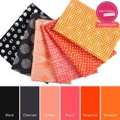 Fall Blooms Stash Bundle // Pile O' Fabric Stash Share