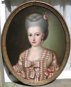 Portrait of a Lady c.1775; French School