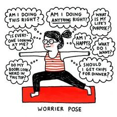 meditation yoga funny cartoongemma correll  yoga