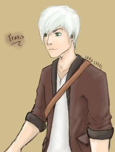 Travis from the minecraft diaries series on youtube by aphmau. made by me Leah Creel <3