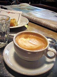 Die Wiener Melange (kurz: Melange) ist eine österreichische Kaffeespezialität. Sie besteht aus einem Teil Kaffee (z. B. Espresso) und einem Teil Milch mit einer Haube aus geschäumter Milch. Sie wurde erstmals um 1830 in Wien angeboten.