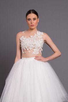 c5c8966e64 Body with lace B089 Ecru (1) Wedding Bodysuit