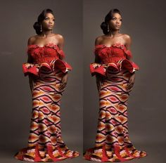 Classy picture collection of Beautiful Ankara Skirt And Blouse Styles These are the most beautiful ankara skirt and blouse trending at the moment. If you must rock anything ankara skirt and blouse styles and design. African Print Dresses, African Fashion Dresses, African Attire, African Wear, African Women, African Dress, African Style, African Beauty, Kente Dress