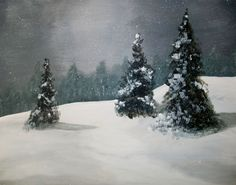 Christmas Eve Artist: Nancy DESPINS Christmas Eve, Pear, That Look, Prints, Artist, Pictures, Blue, Outdoor, Outdoors