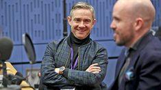 "blackstarjp: ""Martin Freeman at BBC Radio4 Loose Ends (x) """
